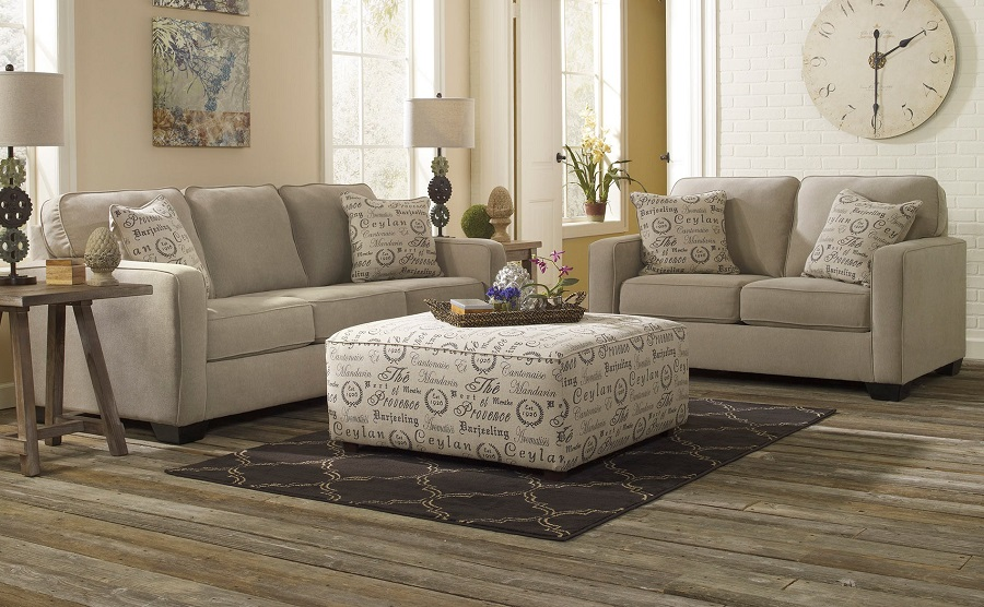 Alenya Collection 16600 Ashley Sofa Amp Loveseat Set