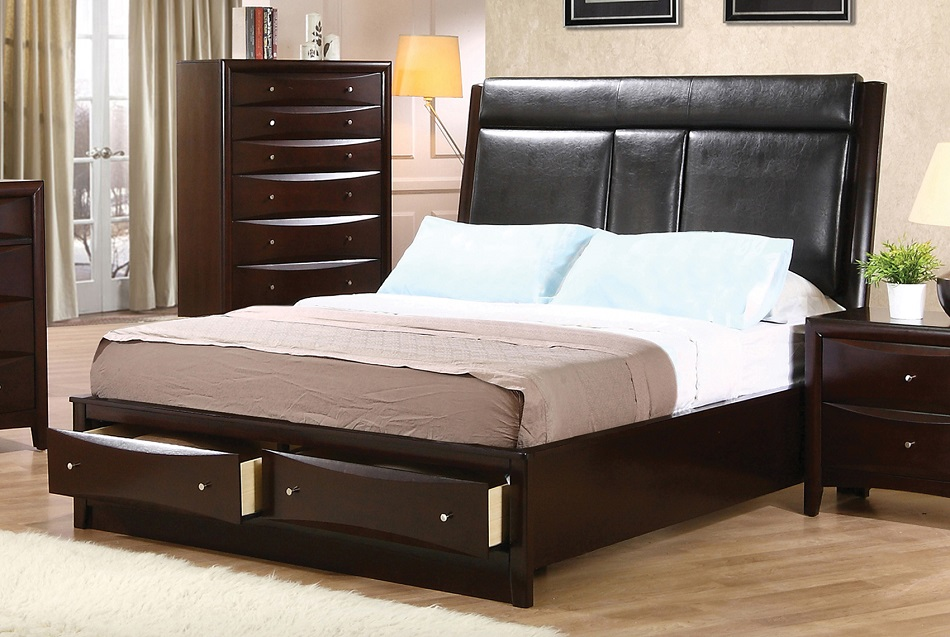 Phoenix Collection 200419kw Coaster California King Bed Frame