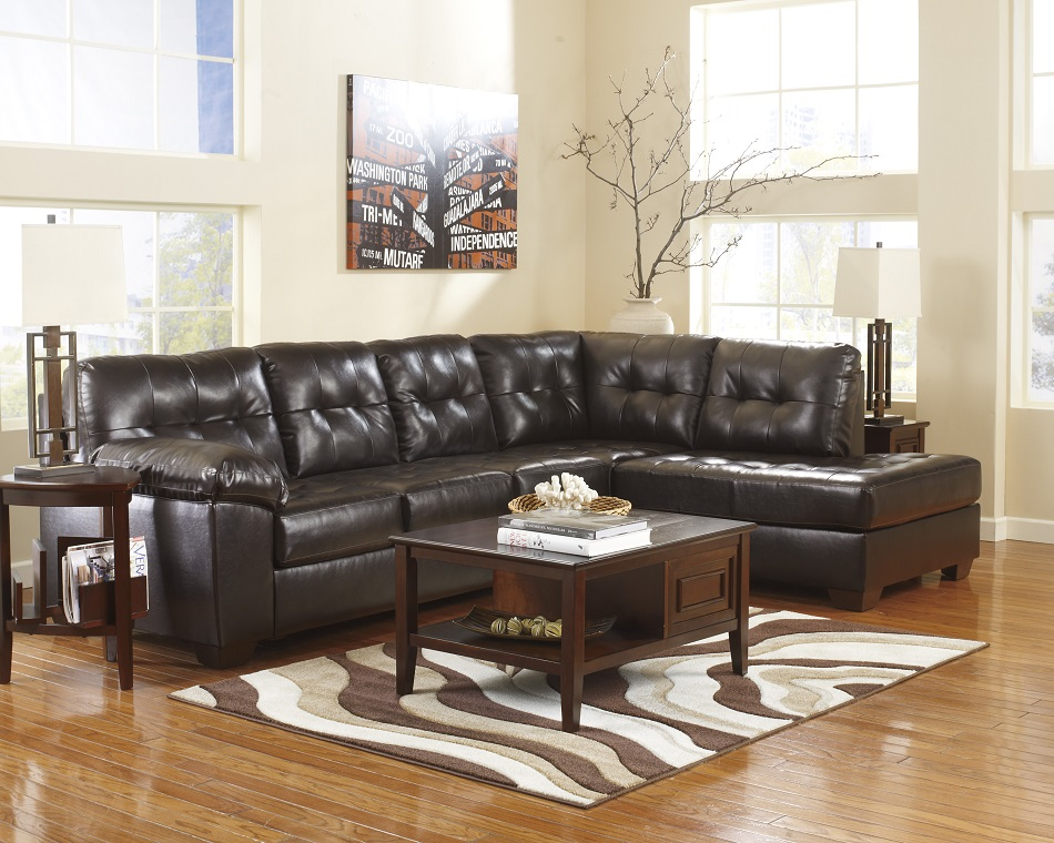 Ashley Furniture Alliston Durablend Chocolate Collection