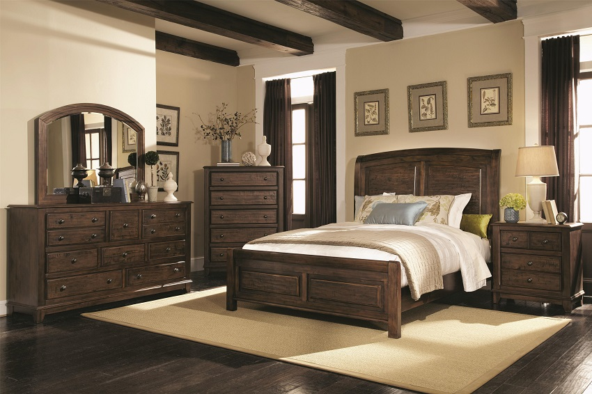 Laughton Collection 203260 Storage Platform Bedroom Set