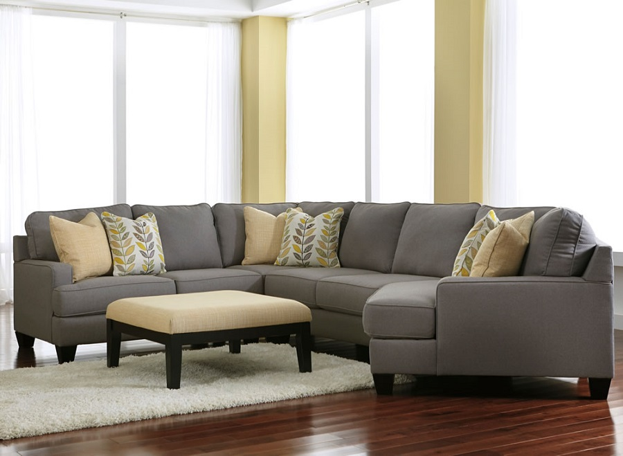 Ashley Furniture Chamberly Alloy 24302 Cuddle Corner
