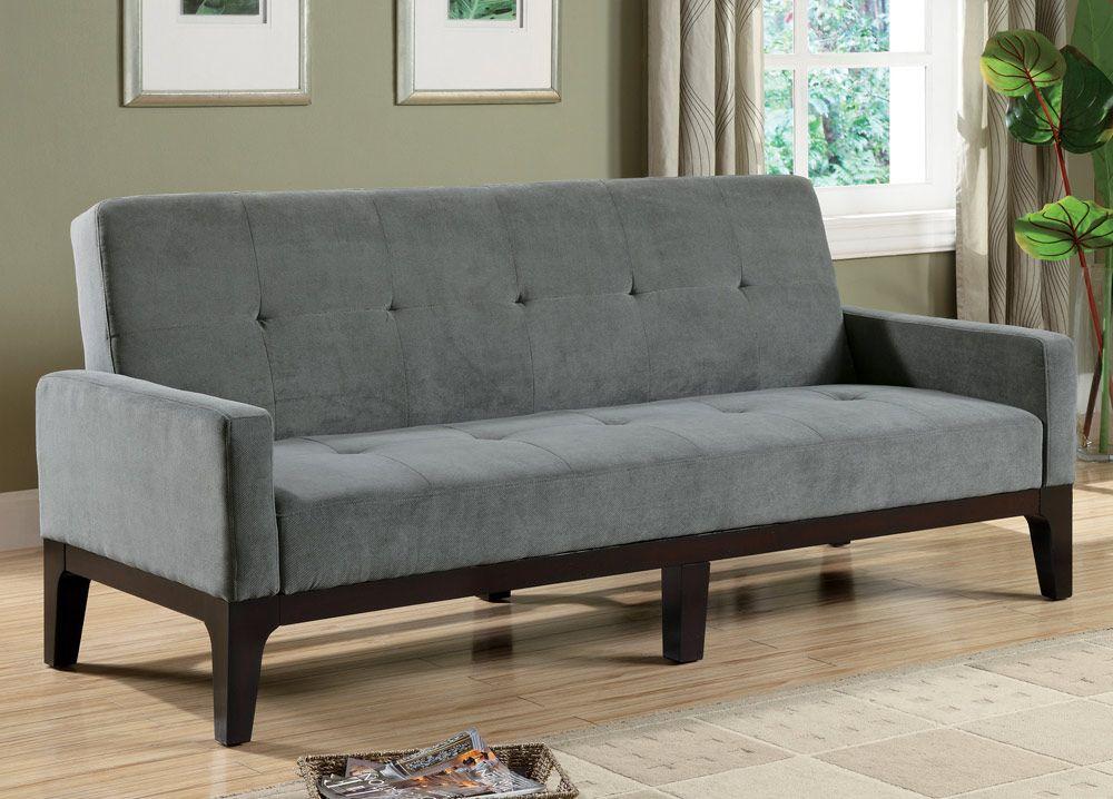 Delaney Collection 300229 Blue Gray Futon