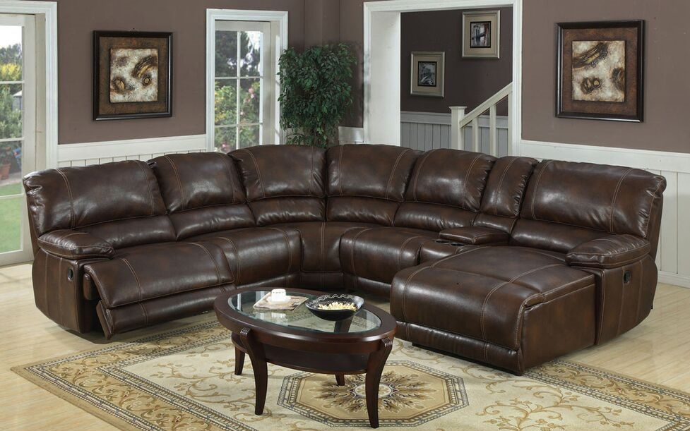 E Motion Sectional With Chaise With Recliner 3352 Console