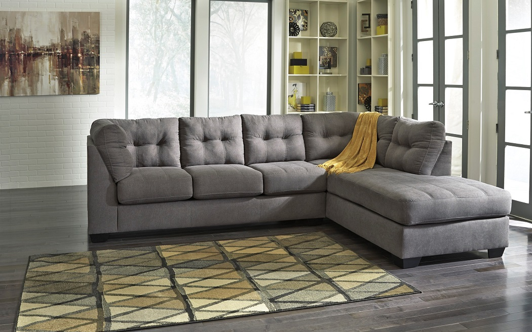 Maier Collection 4520017 Black Gray, Ashley Furniture Sectional Sofa Bed