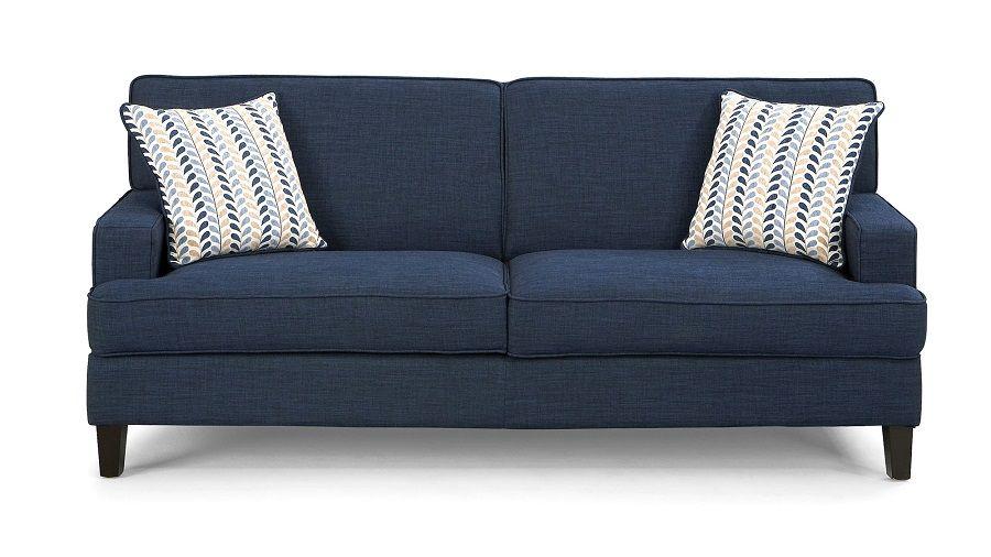 Coaster Furniture Finley Collection 504321 Sofa Blue