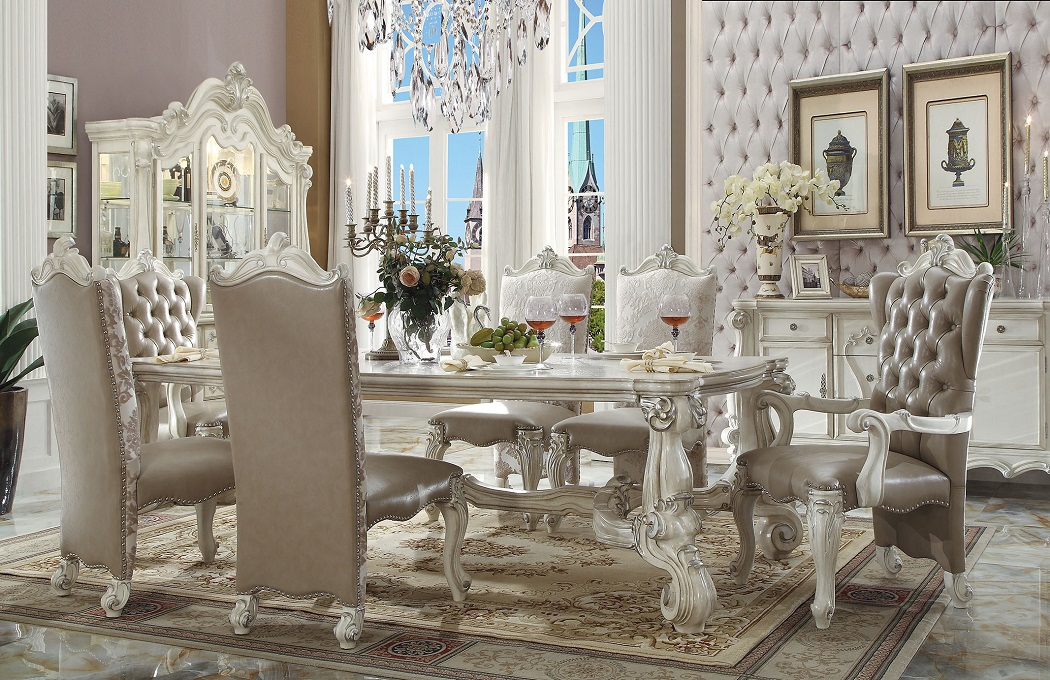 Versailles Collection 61145 Acme Dining Table Set