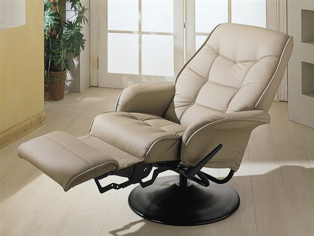 Furniture Outlet Recliner Swivel Leather Coaster 600267