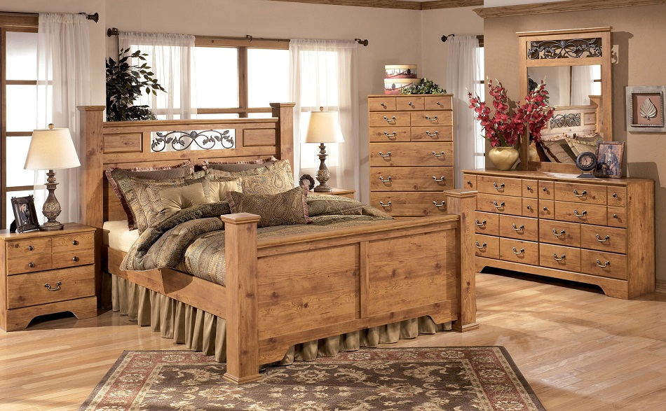 Ashley Furniture Bittersweet Collection B219 Ashley Poster Bedroom Set