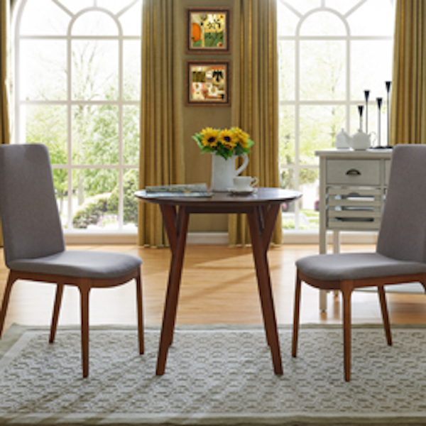 Dn7565 Shannon Southern Enterprises Round Dining Table Seats 2 4