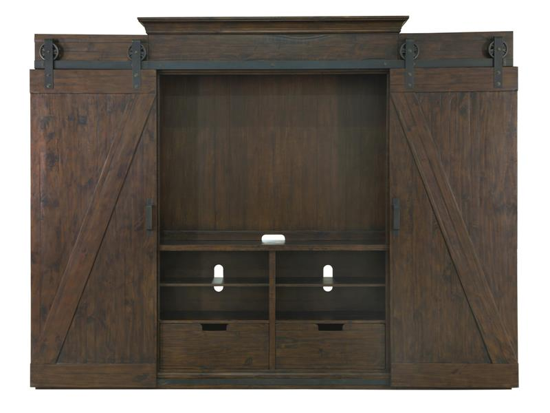 Fraser Magnussen Collection E3779 Entertainment Wall Unit