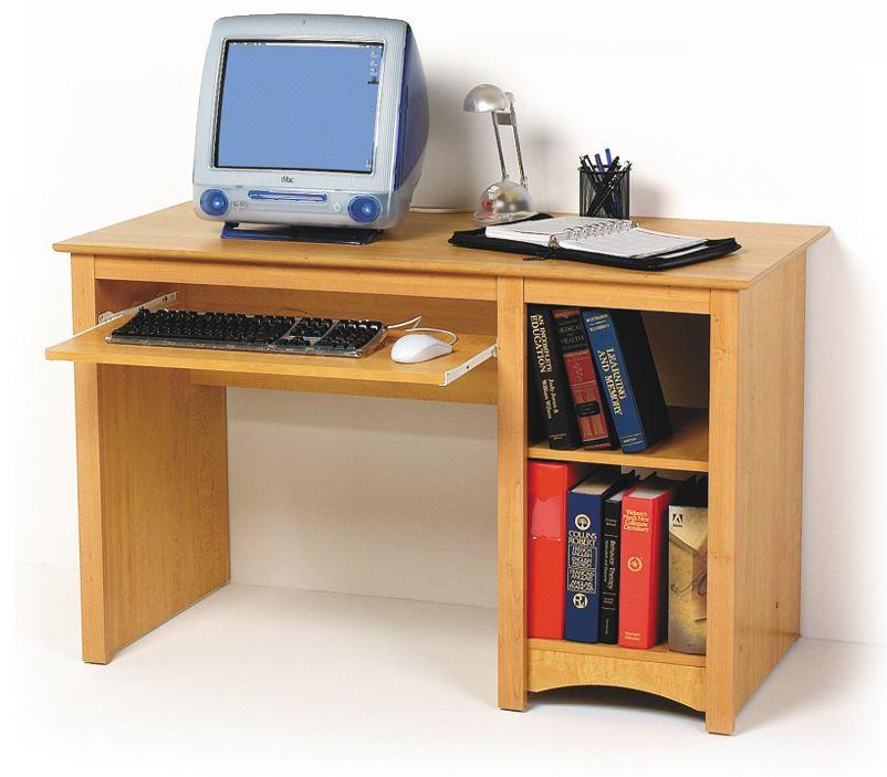 Prepac Maple Computer Desk Mdd2948 Furniture Outlet Mor