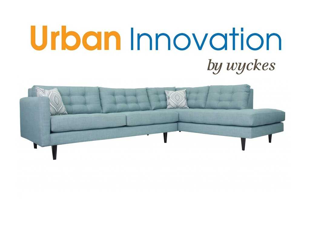 Oliver Urban Innovation Tufted Custom Sectional Sofa