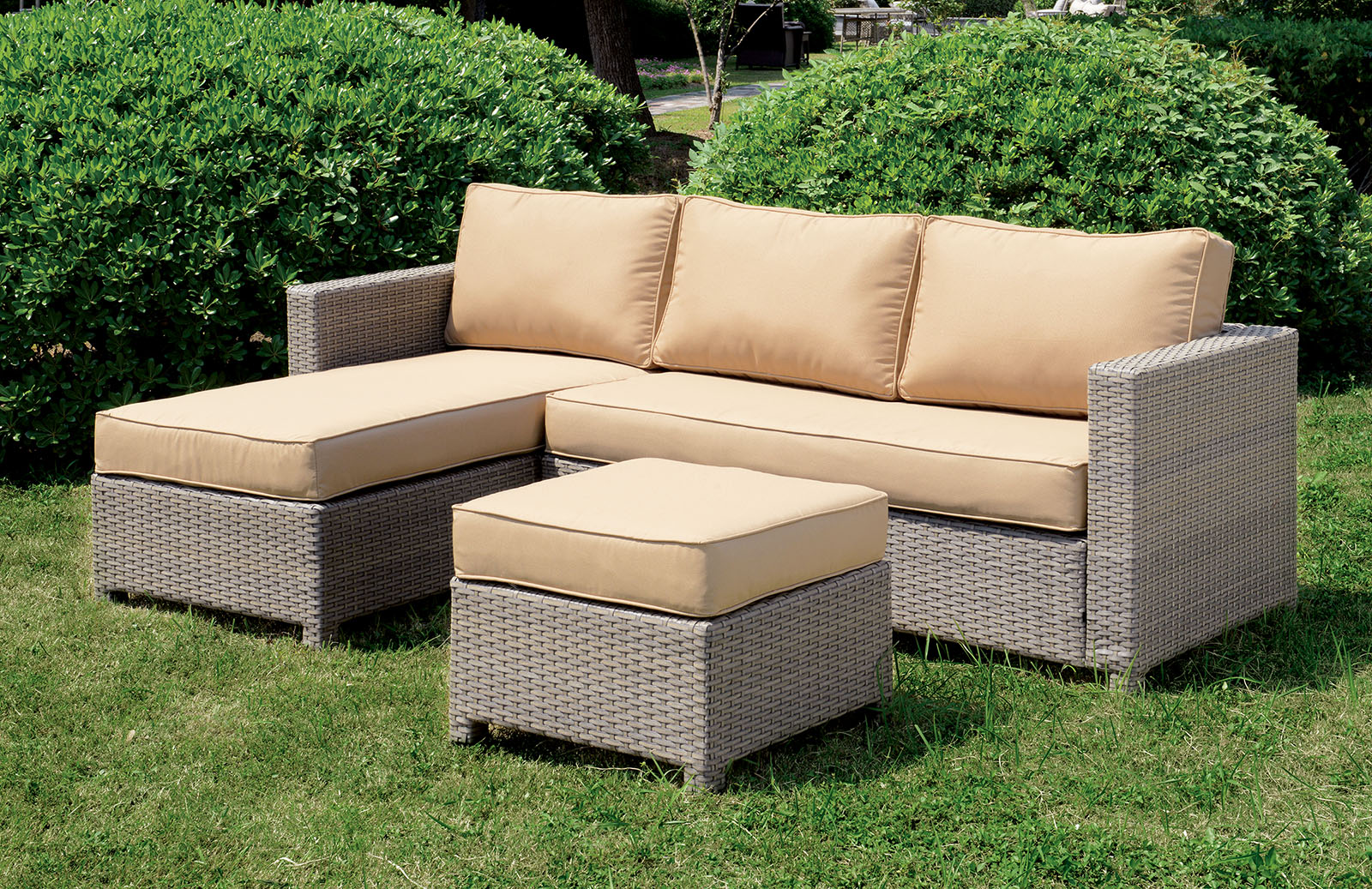 Os1830 Two Tone Outdoor Patio Sectional San Diego Los