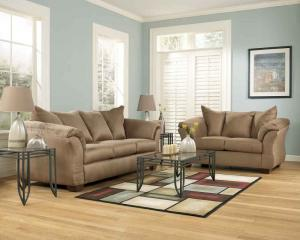 Carson Collection Sofa & Loveseat Set
