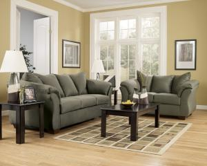 Buena Park Collection Sofa & Loveseat Set