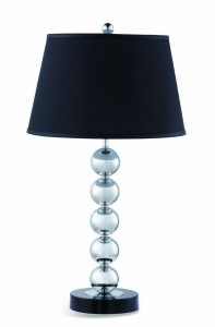 Silver Table Lamp Set 901223 Collection