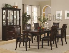 Daisy Collection 101631 Formal Dining Table Set