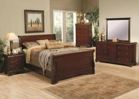 Versailles Collection 201481 Sleigh Bedroom Set
