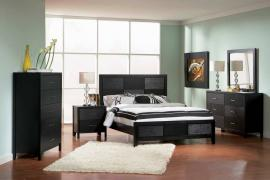 Grove Collection 201651 Black Bedroom Set
