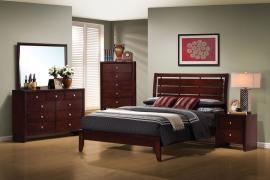 Serenity Collection 201971 Merlot Bedroom Set