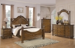 Bartole Collection 202221 Traditional Oak Bedroom Set