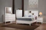 Holland Collection 202290 White Bedroom Set
