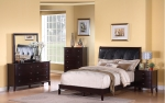 Cranston Collection 202331 Cappuccino Bedroom Set