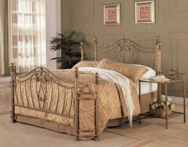 Bowman Collection 300171 Queen Metal Bed