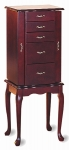 Queen Anne Mahogany Collection 3011 Jewelry Armoire