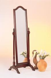 Cherry Finish Cheval Mirror 3103 Collection