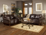 Dugan Collection Leather Sofa & Loveseat Set