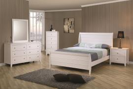 Corona Collection 400231 White Youth Bedroom