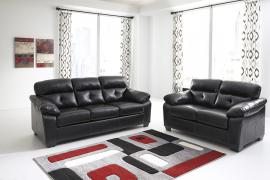 Bastrop Durablend-Midnight Collection 44601 Sofa & Loveseat Set
