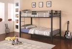 Jackson Collection 460196 Twin/Twin Bunk Bed