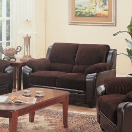 Monika Collection 502812 Love Seat