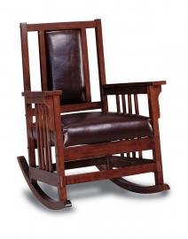 Clark Collection 600058 Dark Oak Rocking Chair