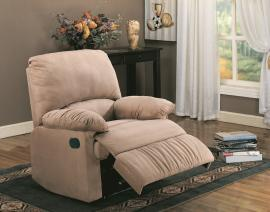Makai Collection 600264 Brown Microfiber Recliner