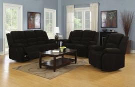 Gordon Collection 601461 Dark Brown Reclining Sofa & Loveseat Set