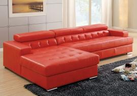 Floria Red Collection 6122RD Modern Sectional