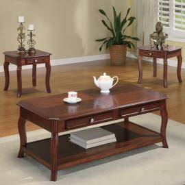 Brenton Collection 701508 Coffee Table Set