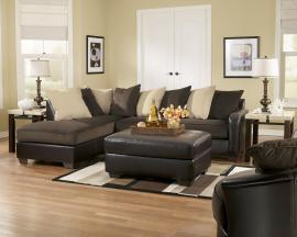 Vivas Chocolate Collection Sectional Sofa