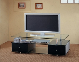 Koa Collection 720081 Glass Top TV Stand