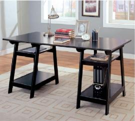Trestle Collection 800361 Cappuccino Desk