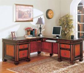 Mentone Collection 800691 L Shaped Desk