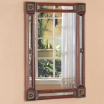 Cherry Finish Mirror 900218 Collection