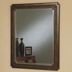 Dark Wood Framed Mirror 900688 Collection