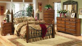 Colt Collection B429 Metal Wood Bedroom Set