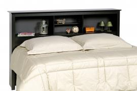 Black Full / Queen Storage Headboard BSH6643