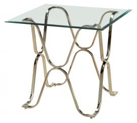 Vador Collection CM4229CPN Champagne End Table
