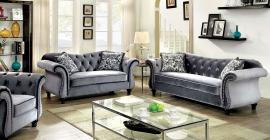Jolanda Collection CM6159GY Sofa & Loveseat Set
